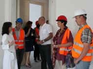 Zamjenica Medarić obišla radove na sanaciji Klinike za radioterapiju i onkologiju