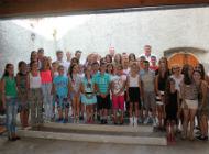 Župan Zlatko Komadina u posjeti djeci iz Srebrenice