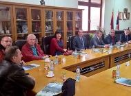 Delegacija Društva hrvatsko-srpskog prijateljstva u Čačku