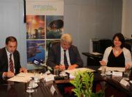 Potpisivanje Sporazuma o suradnji na provedbi projekta povezivanja poslovne zone Kunfin i radne zone Marišćina