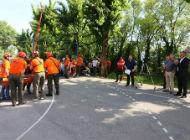 Pokazna vježba evakuacije Tehničke škole za strojarstvo i brodogradnju u Rijeci