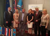 Slovenska veleposlanica na sastanku sa županom i gradonačelnikom
