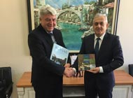 Župan Komadina u posjeti Hercegovini