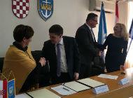 Sporazum o sufinanciranju izgradnje komunalnih vezova u luci Carovo