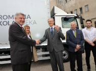 Župan Komadina uručio ključeve vozila za obuku Prometnoj školi Rijeka