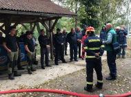 Vježba pripadnika civilne zaštite u Blaževcima