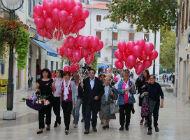 Obilježen Dan ružičaste vrpce na Korzu