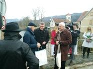 Predblagdanski susret na Schengenskoj granici na Kupi