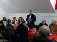 Druženje s članovima slovenske zajednice u Gradu Čabru