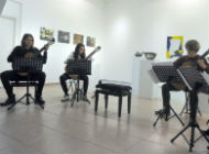 Interaktivni koncert Gitarističkog kvarteta u sklopu izložbe Love ART