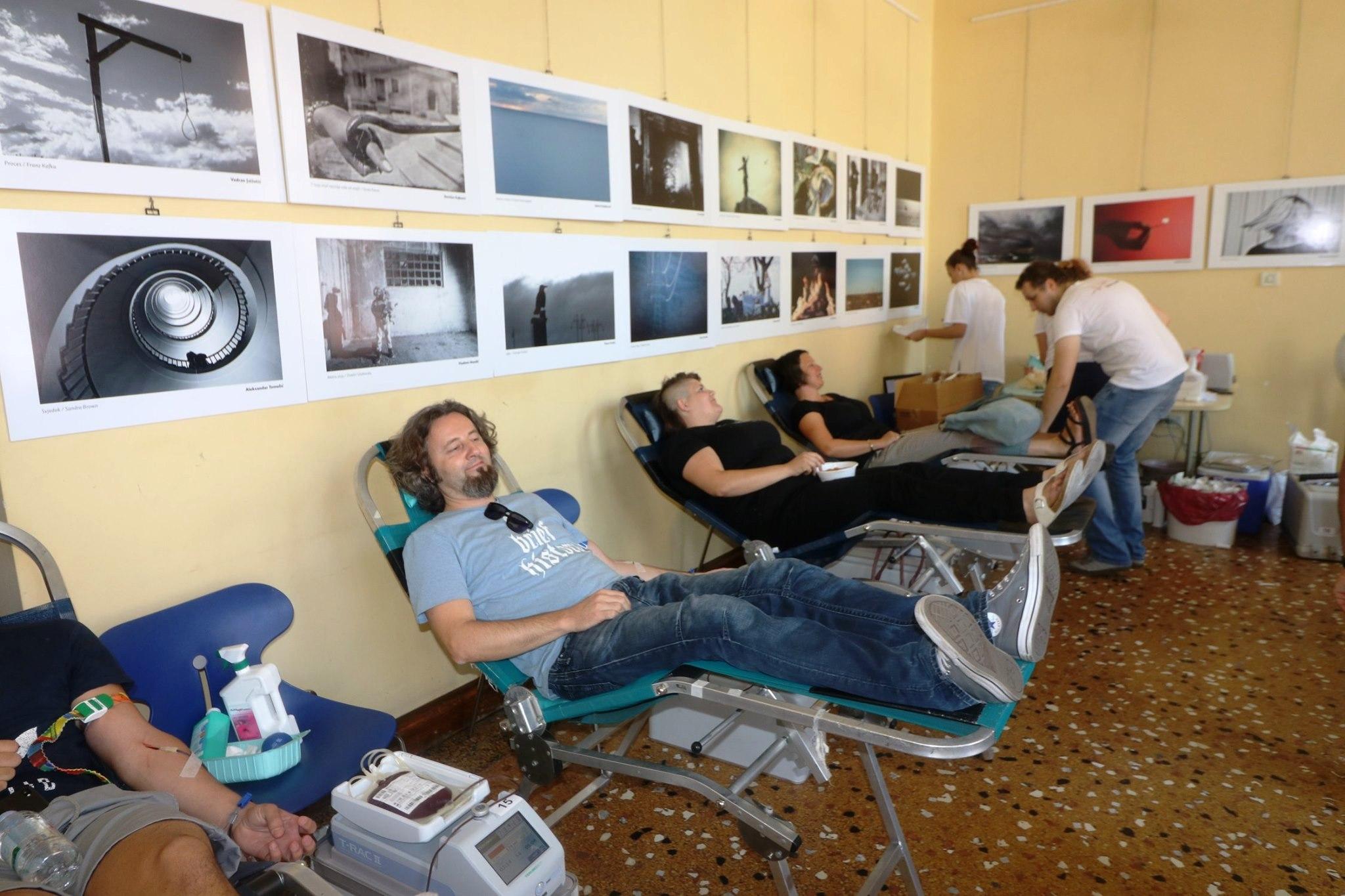Uspješna akcija dobrovoljnog darivanja krvi