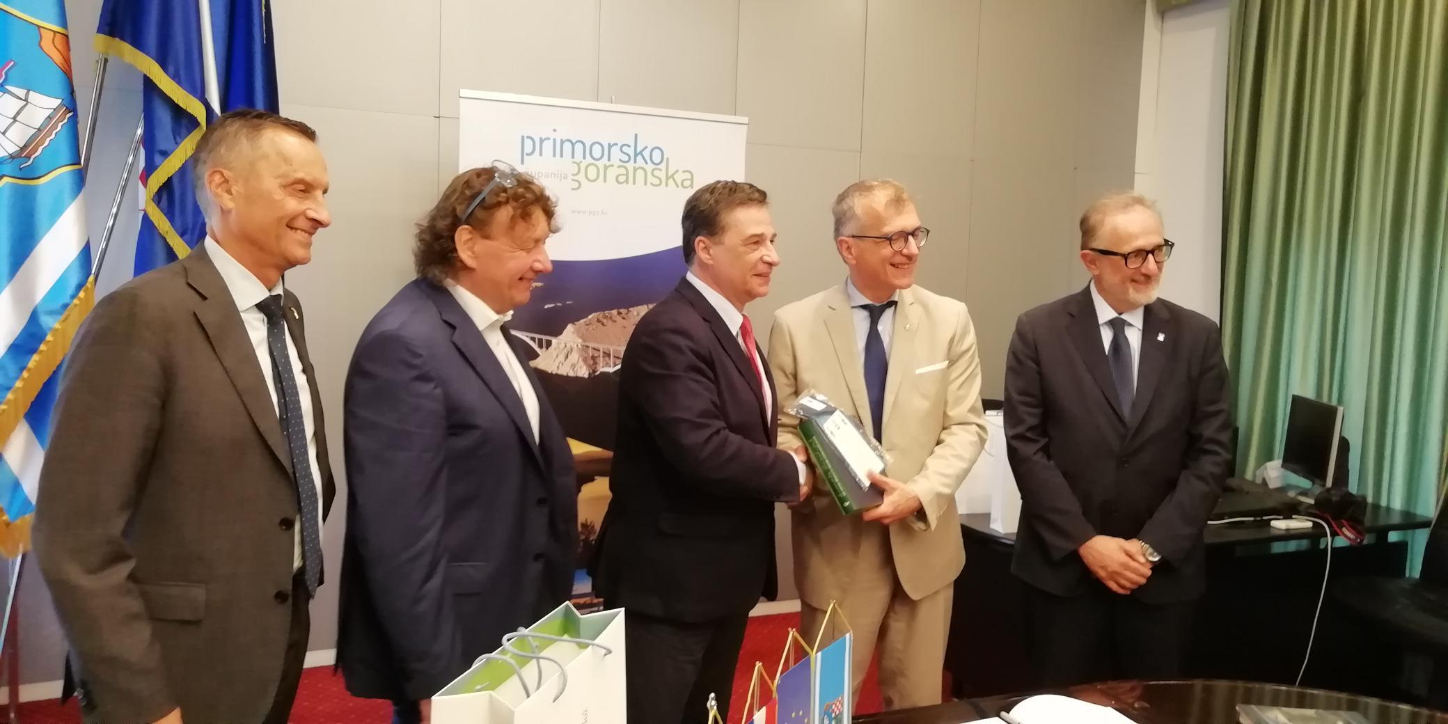 Delegacija Autonomne regije Friuli Venezia Giulia posjetila Primorsko-goransku županiju