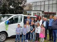 Klanjski osnovnoškolci u novu školsku godinu s novim kombi vozilom