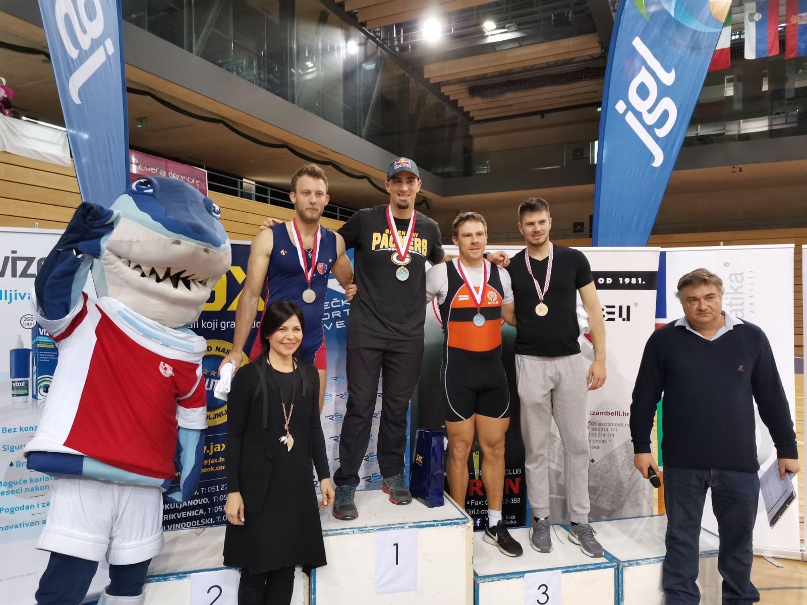 Martin Sinković pobjednik nacionalnog prvenstva u ergometrima